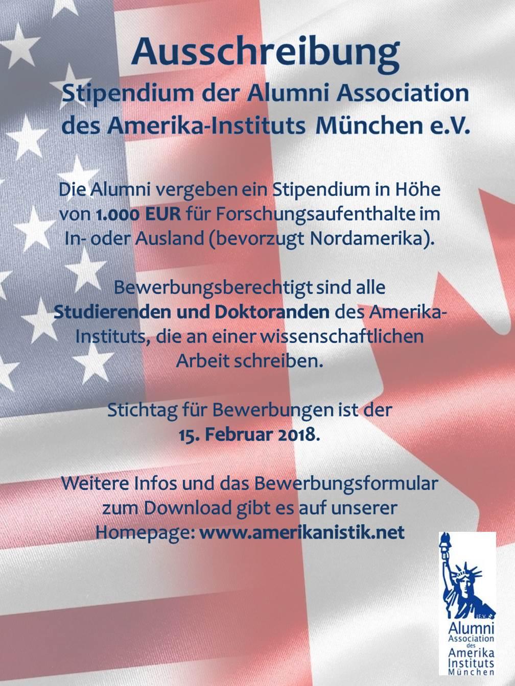 Förderprogramme - Amerika-Institut - LMU München