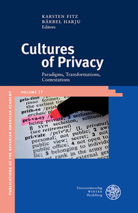 harju cultures of privacy